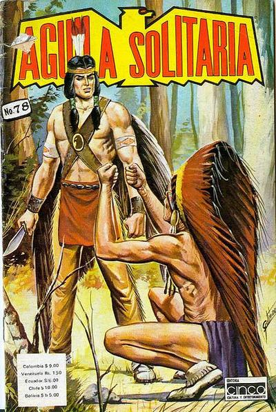 Cover for Aguila Solitaria (Editora Cinco, 1976 ? series) #78