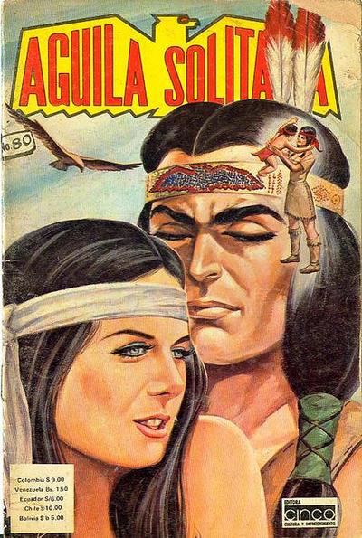Cover for Aguila Solitaria (Editora Cinco, 1976 ? series) #80