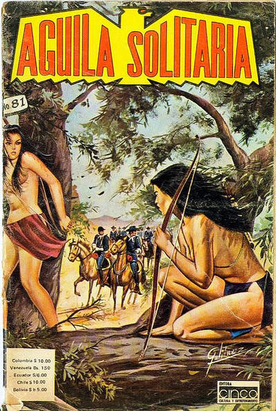 Cover for Aguila Solitaria (Editora Cinco, 1976 ? series) #81