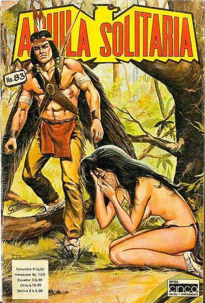 Cover for Aguila Solitaria (Editora Cinco, 1976 ? series) #83