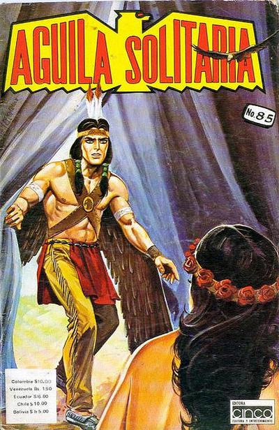 Cover for Aguila Solitaria (Editora Cinco, 1976 ? series) #85
