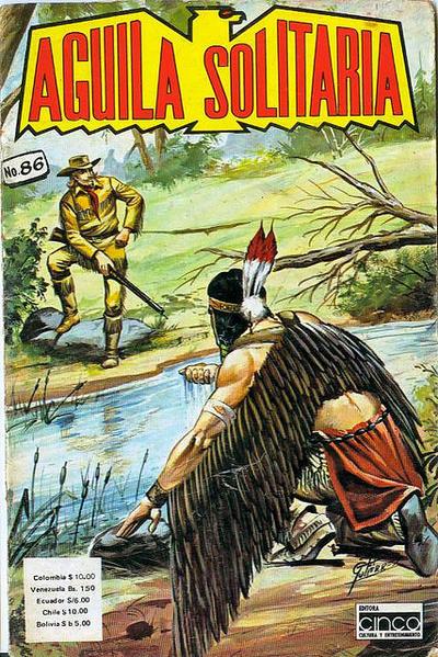 Cover for Aguila Solitaria (Editora Cinco, 1976 ? series) #86
