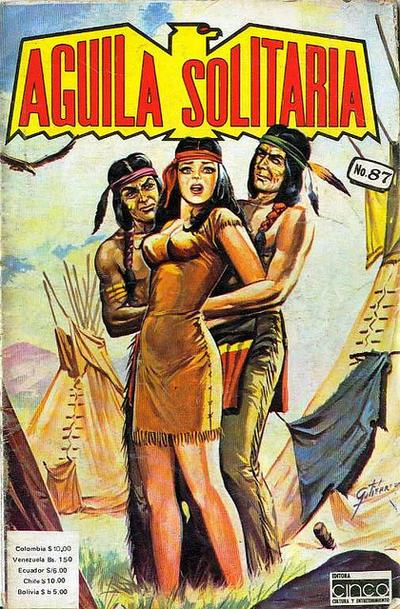 Cover for Aguila Solitaria (Editora Cinco, 1976 ? series) #87