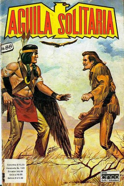 Cover for Aguila Solitaria (Editora Cinco, 1976 ? series) #88