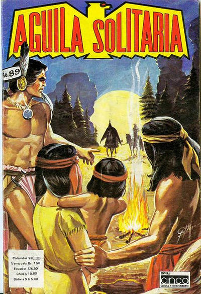 Cover for Aguila Solitaria (Editora Cinco, 1976 ? series) #89