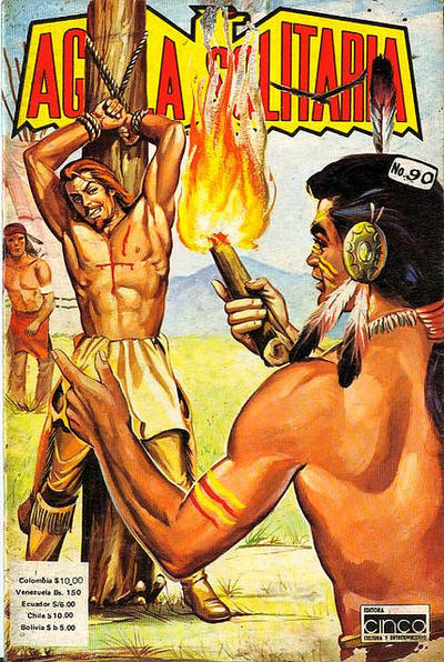 Cover for Aguila Solitaria (Editora Cinco, 1976 ? series) #90
