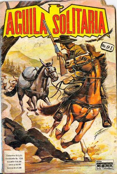 Cover for Aguila Solitaria (Editora Cinco, 1976 ? series) #91