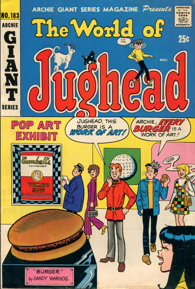 Cover for Archie Giant Series Magazine (Archie, 1954 series) #183