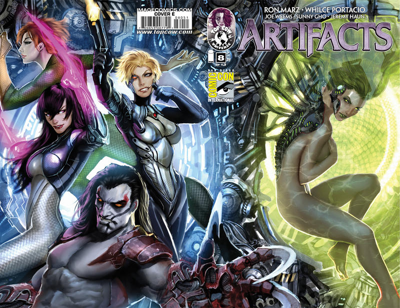 Cover for Artifacts (Image, 2010 series) #8 [Cover B]
