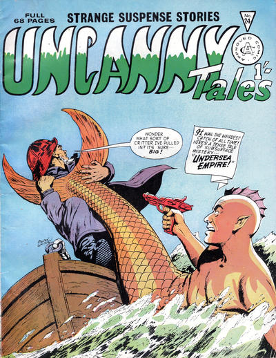 Cover for Uncanny Tales (Alan Class, 1963 series) #24