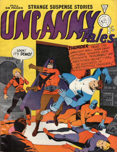Cover for Uncanny Tales (Alan Class, 1963 series) #37