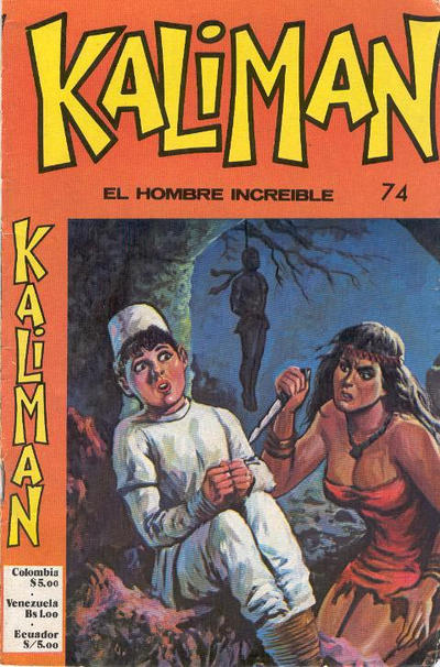 Cover for Kaliman (Editora Cinco, 1976 series) #74