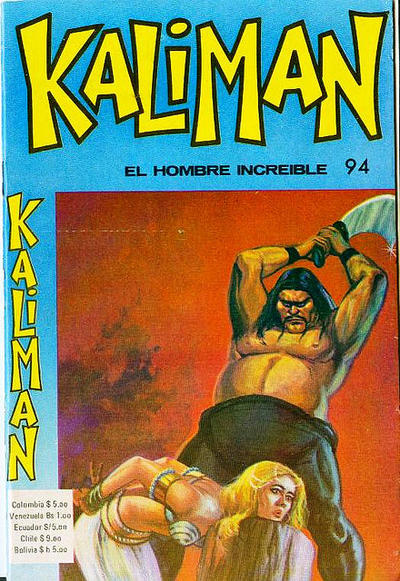 Cover for Kaliman (Editora Cinco, 1976 series) #94