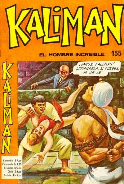 Cover for Kaliman (Editora Cinco, 1976 series) #155