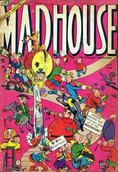 Cover for Madhouse (Farrell, 1954 series) #2