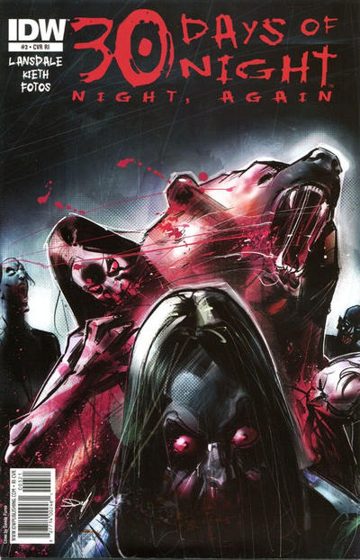 Cover for 30 Days of Night: Night, Again (IDW, 2011 series) #3