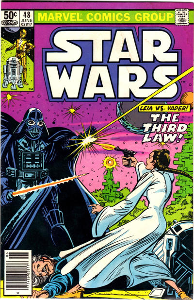Cover for Star Wars (Marvel, 1977 series) #48 [Direct]