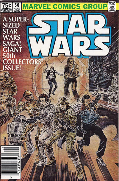 Cover for Star Wars (Marvel, 1977 series) #50 [Direct]