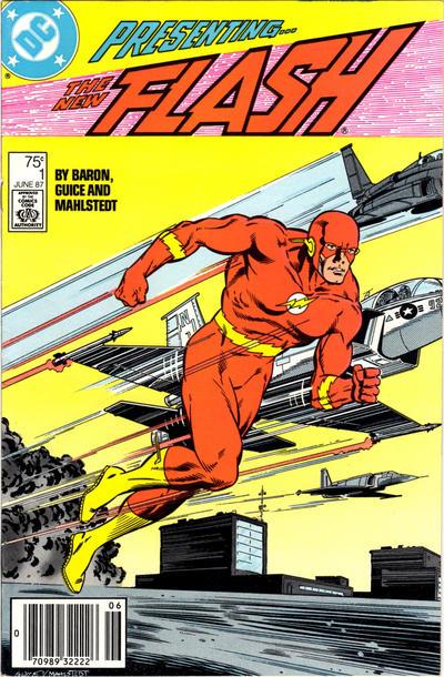 Cover for Flash (DC, 1987 series) #1