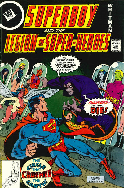 Cover for Superboy & the Legion of Super-Heroes (DC, 1977 series) #244