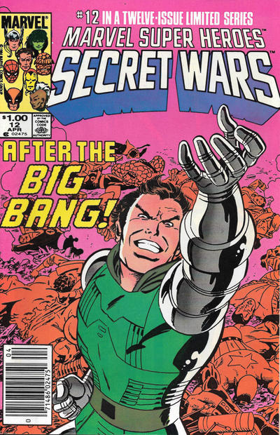 Cover for Marvel Super-Heroes Secret Wars (Marvel, 1984 series) #12 [Newsstand Edition]