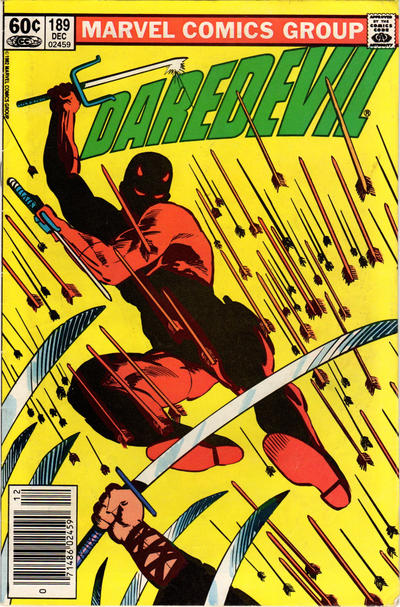 Cover for Daredevil (Marvel, 1964 series) #189 [Direct Edition]