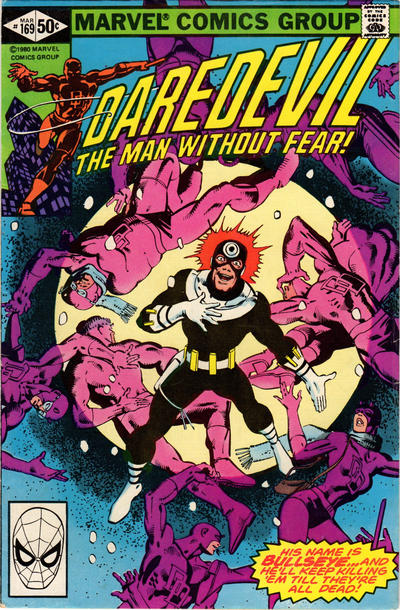 Cover for Daredevil (Marvel, 1964 series) #169 [Newsstand Edition]