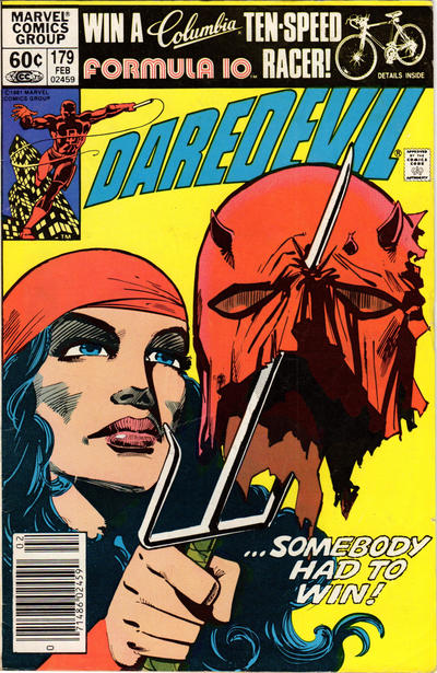 Cover for Daredevil (Marvel, 1964 series) #179 [Direct Edition]