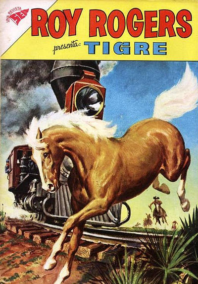 Cover for Roy Rogers (Editorial Novaro, 1952 series) #115