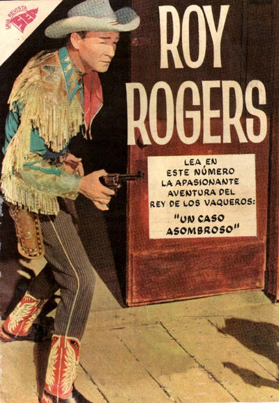 Cover for Roy Rogers (Editorial Novaro, 1952 series) #76