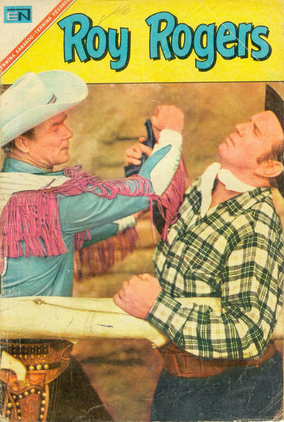 Cover for Roy Rogers (Editorial Novaro, 1952 series) #181