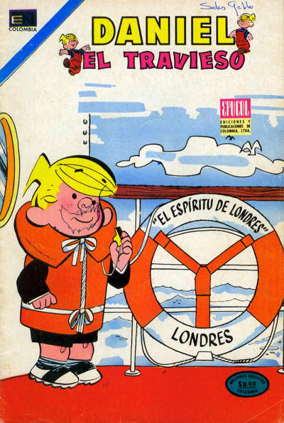 Cover for Daniel el Travieso (Epucol, 1977 series) #93