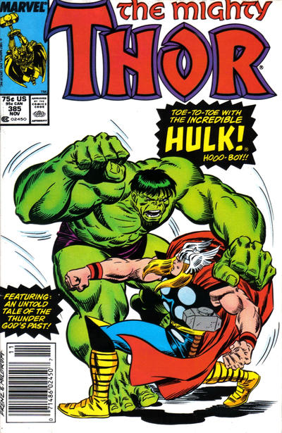 Cover for Thor (Marvel, 1966 series) #385