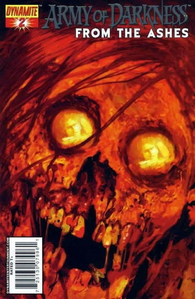 Cover for Army of Darkness (Dynamite Entertainment, 2007 series) #2 [Silver Foil Variant]