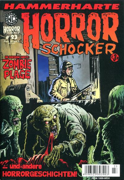 Cover for Horrorschocker (Weissblech Comics, 2004 series) #23