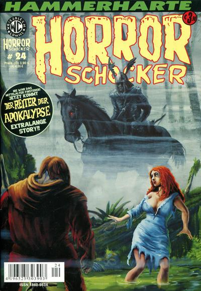 Cover for Horrorschocker (Weissblech Comics, 2004 series) #24
