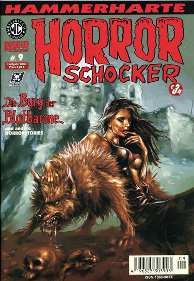 Cover for Horrorschocker (Weissblech Comics, 2004 series) #9