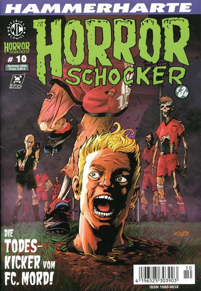Cover for Horrorschocker (Weissblech Comics, 2004 series) #10