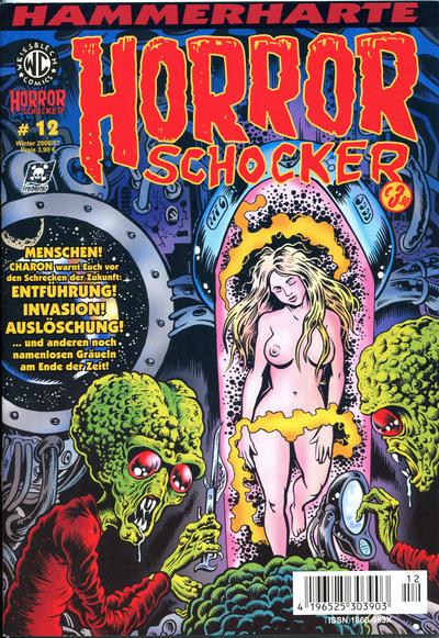 Cover for Horrorschocker (Weissblech Comics, 2004 series) #12