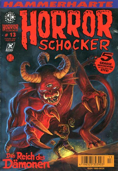 Cover for Horrorschocker (Weissblech Comics, 2004 series) #13