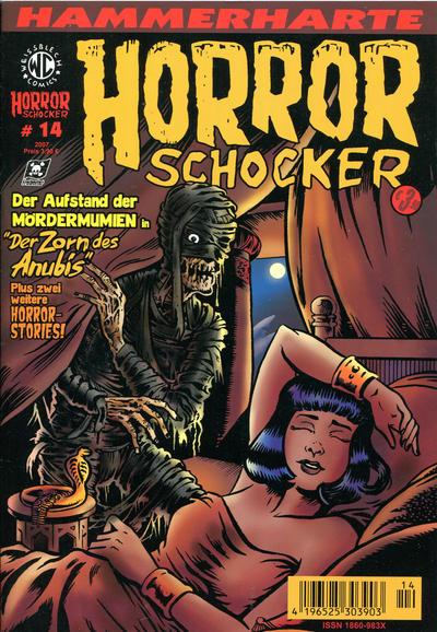 Cover for Horrorschocker (Weissblech Comics, 2004 series) #14