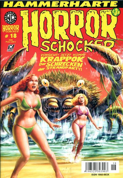 Cover for Horrorschocker (Weissblech Comics, 2004 series) #18