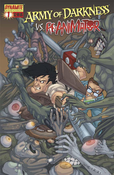 Cover for Army of Darkness (Dynamite Entertainment, 2005 series) #1 [Cover E]
