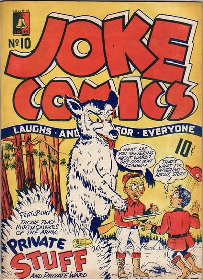 Cover for Joke Comics (Bell Features, 1942 series) #10