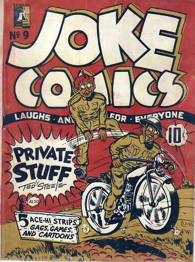 Cover for Joke Comics (Bell Features, 1942 series) #9