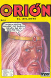 Cover for Orion El Atlante (Editora Cinco, 1974 series) #96