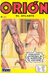 Cover for Orion El Atlante (Editora Cinco, 1974 series) #101