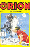 Cover for Orion El Atlante (Editora Cinco, 1974 series) #107