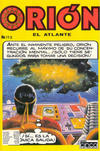 Cover for Orion El Atlante (Editora Cinco, 1974 series) #113