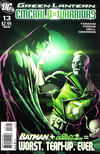 Cover Thumbnail for Green Lantern: Emerald Warriors (2010 series) #13 [Pete Woods Variant Cover]